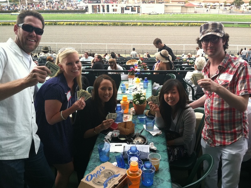 Evan and His Associates Take Down $352 Pick 3 at Del Mar